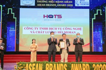再获荣耀丨汉斯曼集团HQTS获颁东盟年度Strong ASEAN Brands Award十强品牌奖项